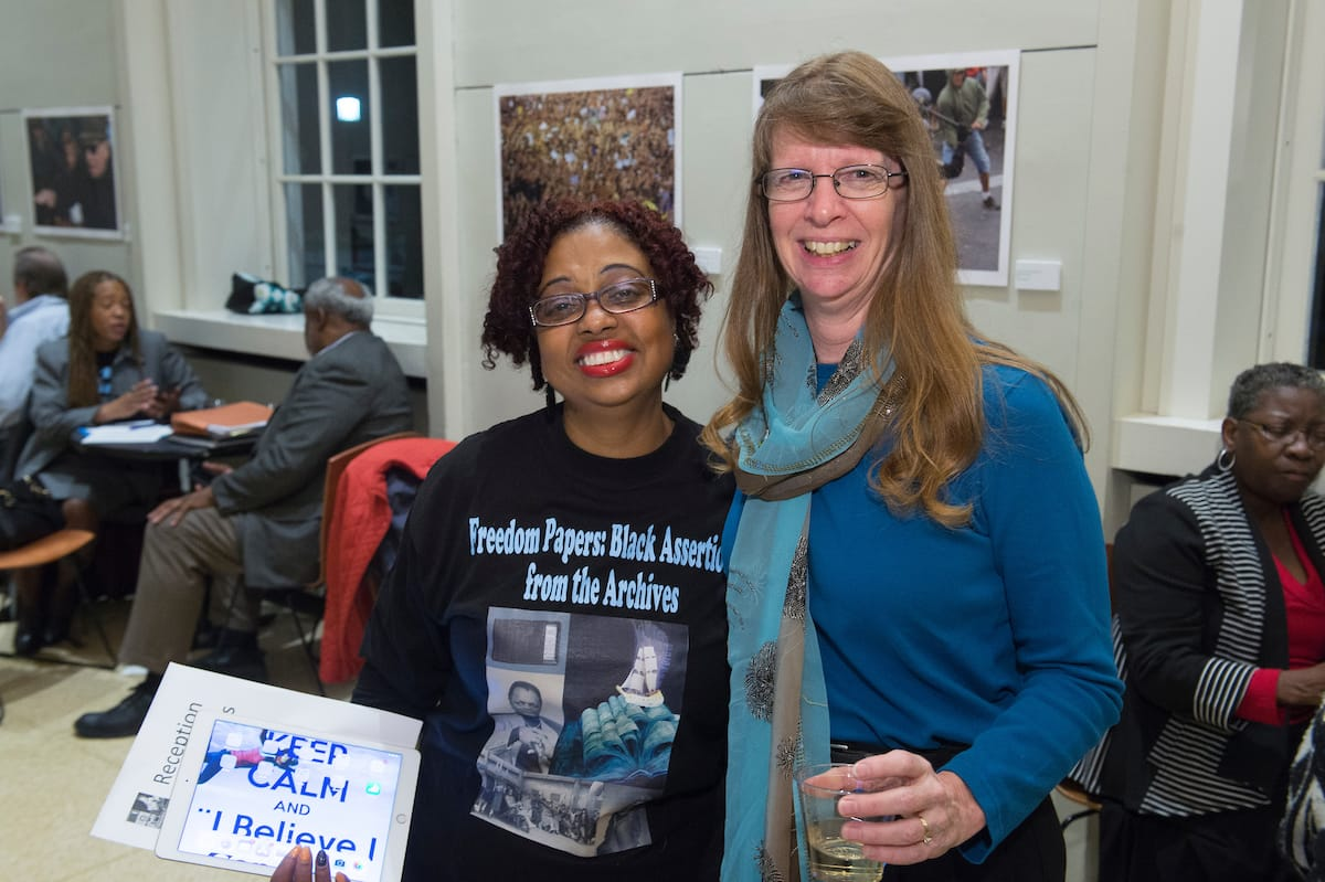 """Opening Reception for """"Freedom Papers"""" Exhibition at JHU"""