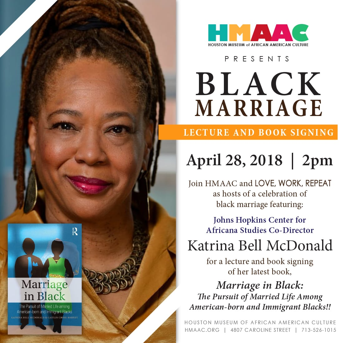 """Marriage in Black"" Lecture and Book Signing"