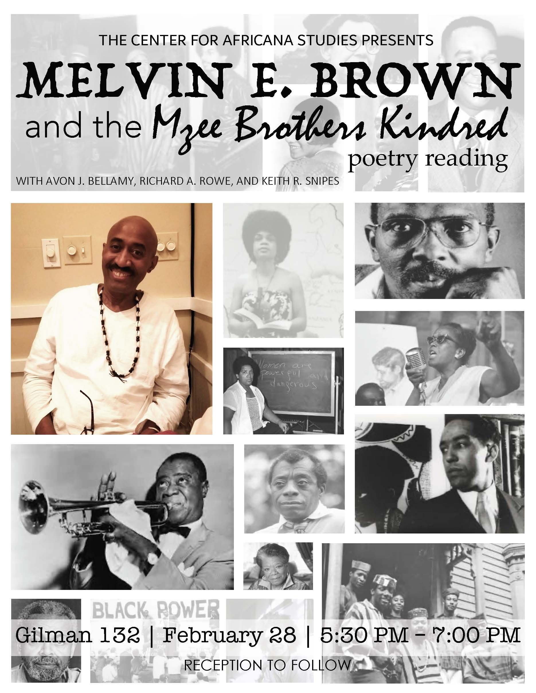 Melvin E Brown and the Mzee Brothers Kindred Poetry Reading