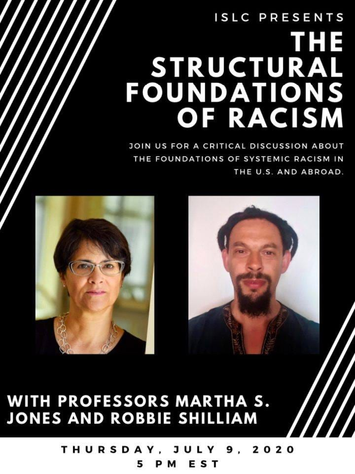 The Structural Foundations of Racism event: July 9