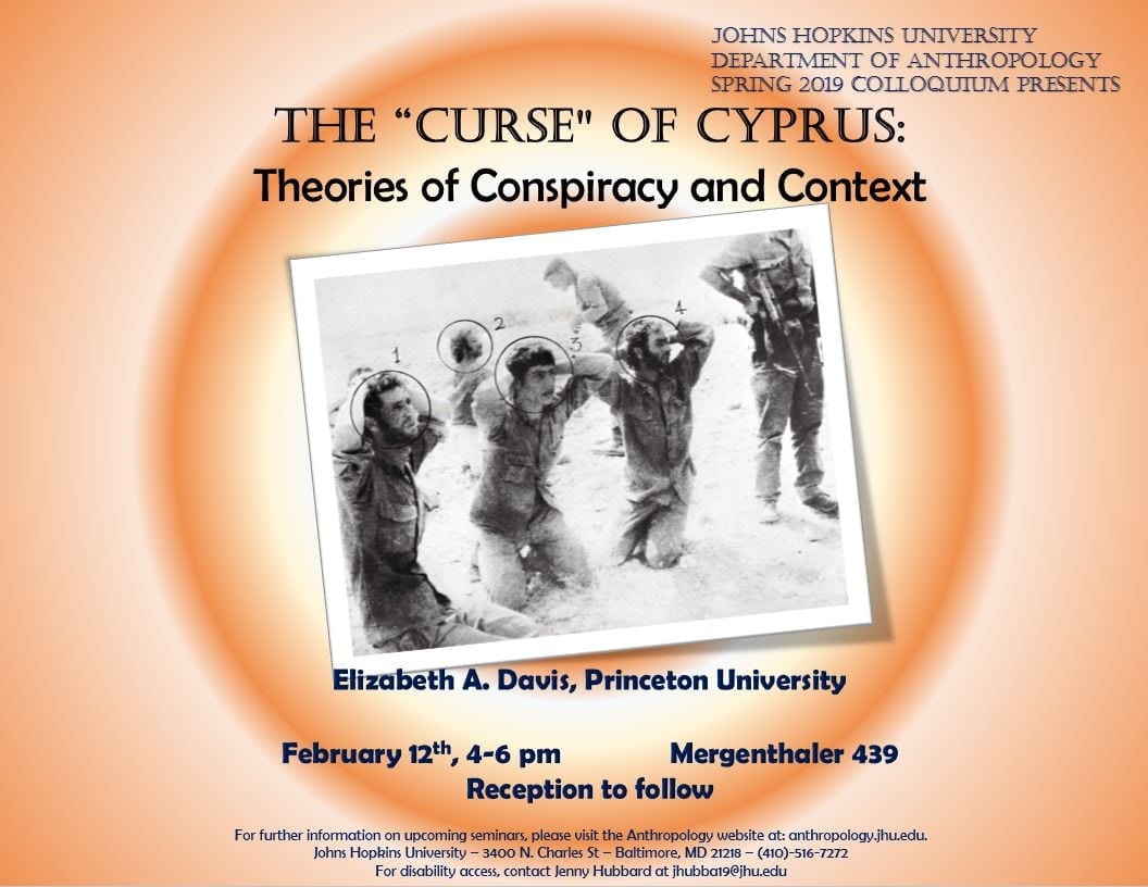"""The 'Curse' of Cyprus: Theories of Conspiracy and Context"""