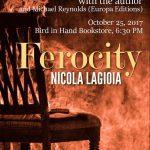 Ferocity event poster