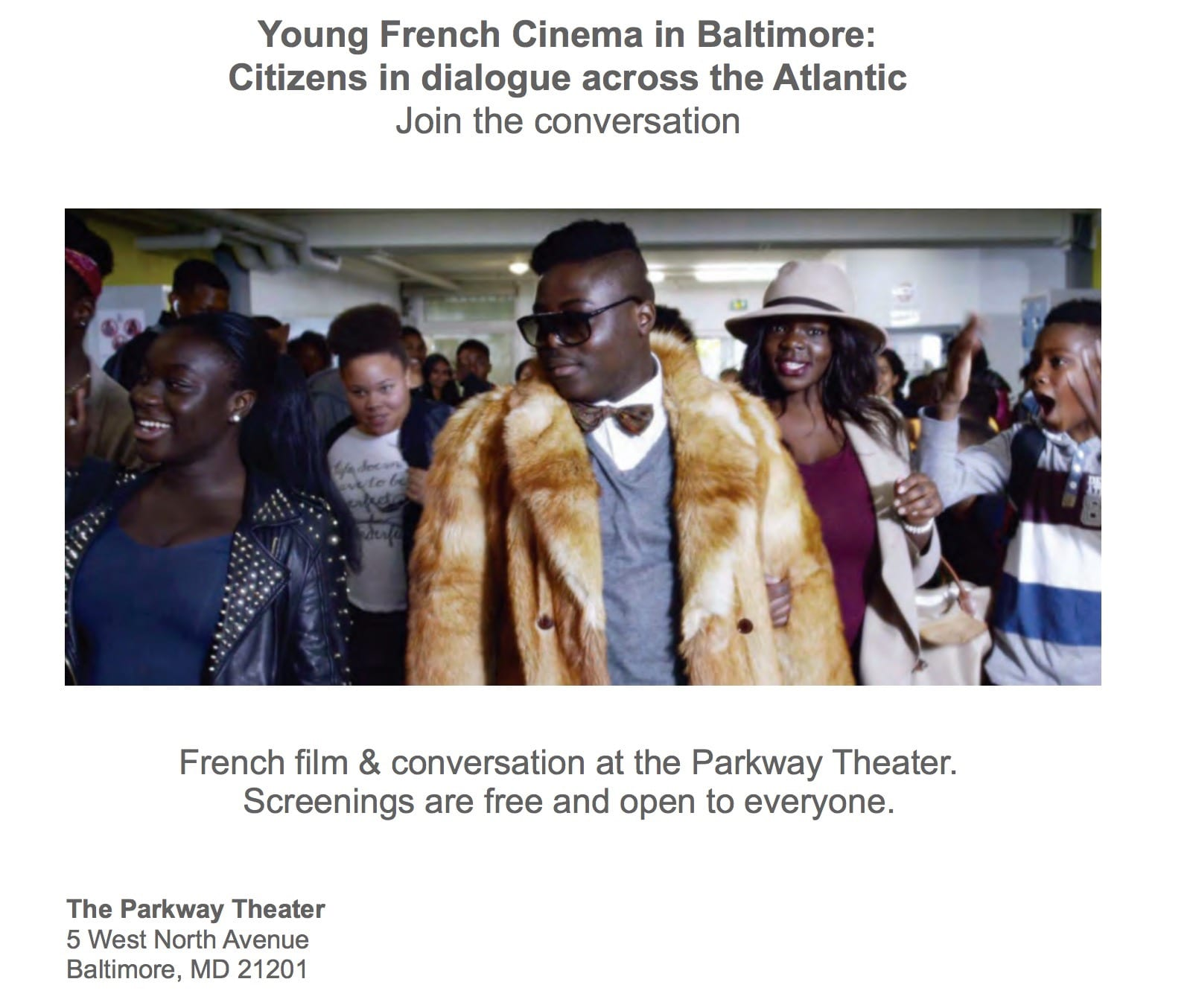 Young French Filmmakers at the Parkway Theatre