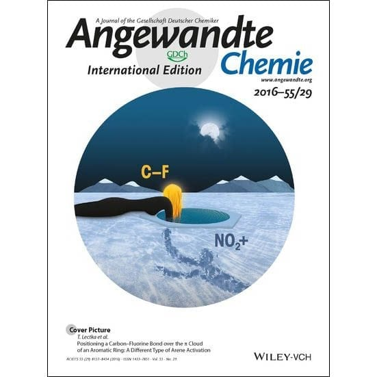 Max Holl Published in Angewandte Chemie