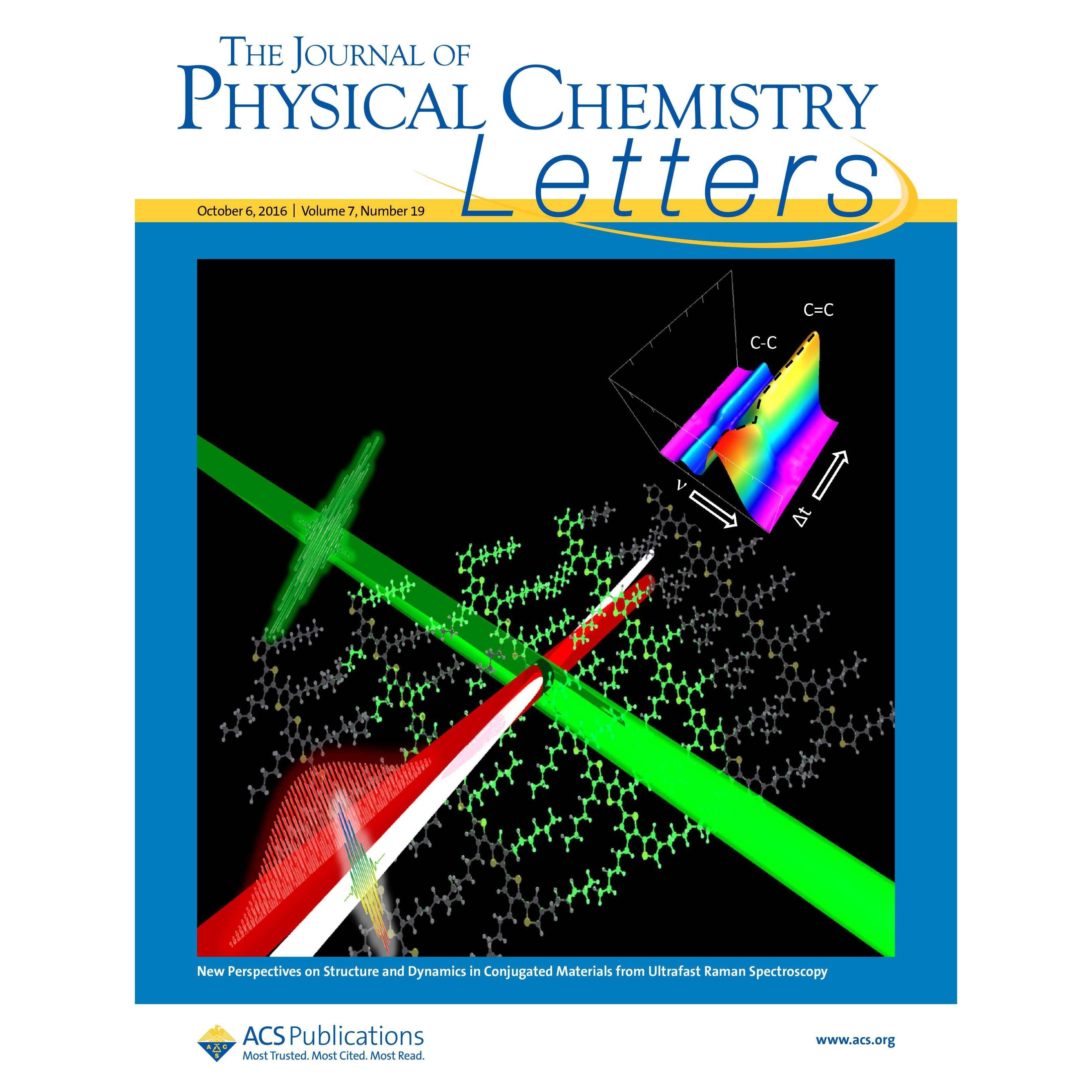 Bragg Group Publishes in Journal of Physical Chemistry Letters
