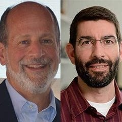 Marc Greenberg and J.D. Tovar Receive Johns Hopkins Discovery Awards
