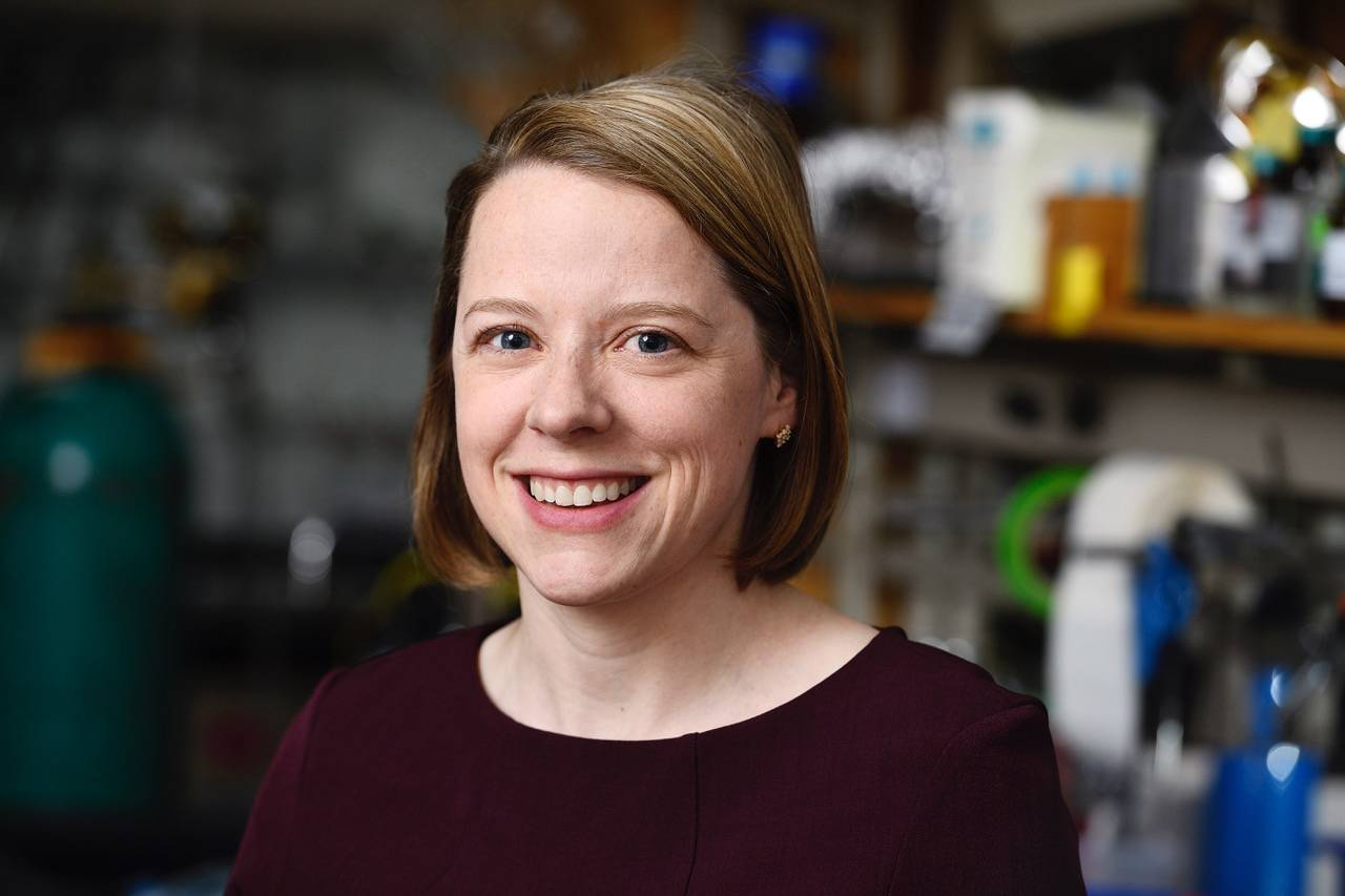 Rebekka Klausen explores longer-lasting, sustainable materials with NSF-funded team