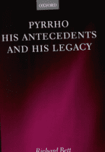 Pyrrho, His Antecedents, and His Legacy Cover