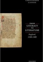 From Literacy to Literature: England, 1300-1400 Book Cover