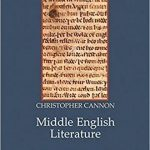 Middle English Literature: A Cultural History Book Cover