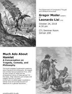 Gregor Moder (Ljubljana) and Leonardo Lisi (JHU) @ Gilman 208