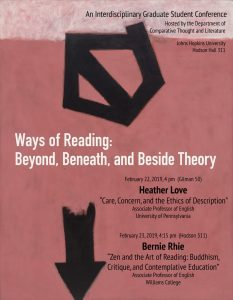 Graduate Student Conference: Ways of Reading