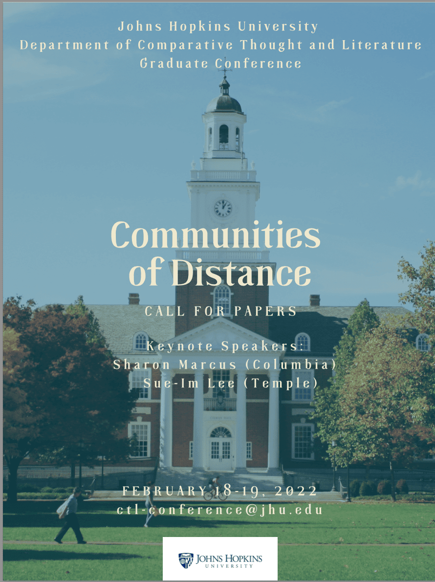 Communities of Distance – CTL Biennial Graduate Student Conference 2022