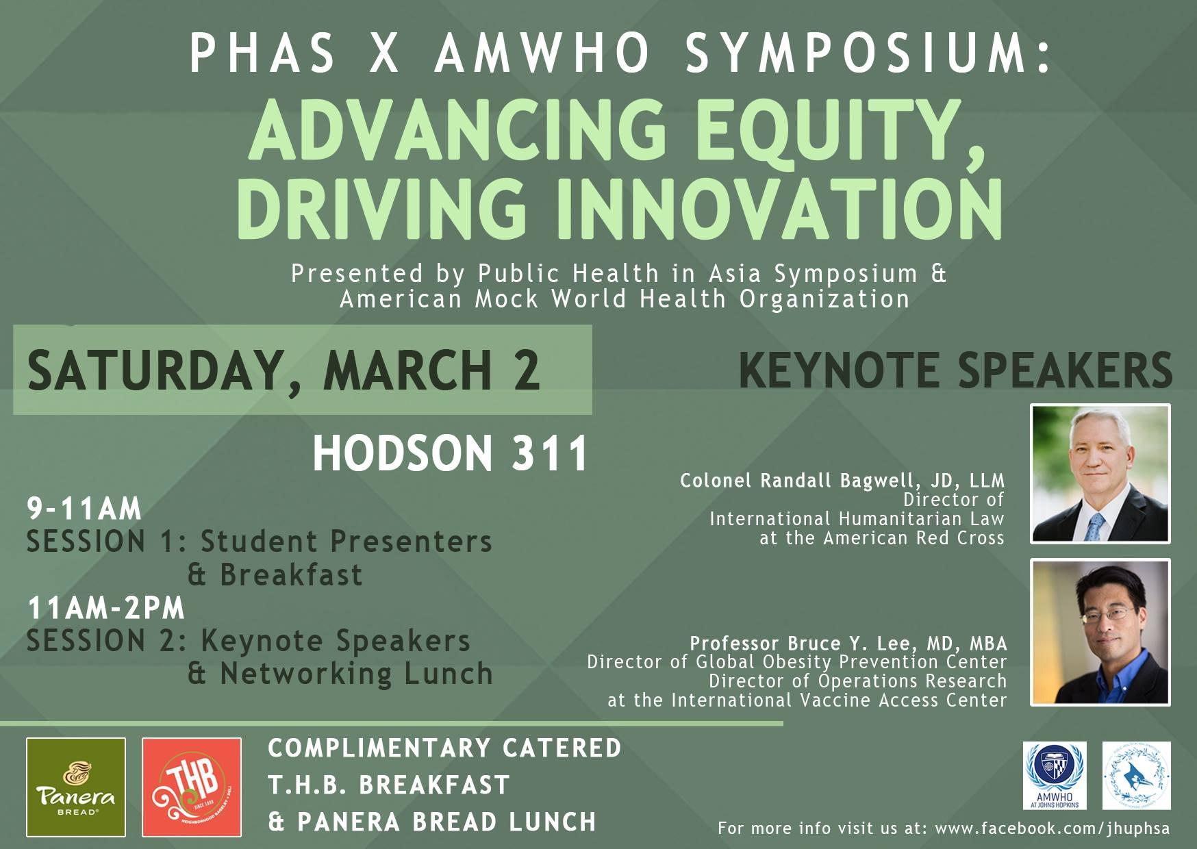 The Public Health in Asia Symposium March 2