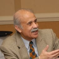 Professor Ali Khan at the XXII European Workshop on General Equilibrium Theory