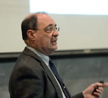 Professor Charles F. Manski delivered the 2013-2014 Ely Lecture Series