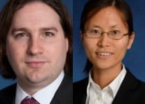 Congratulations to our recent PhDs, Matthew White and Ruli Xiao!
