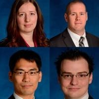 Congratulations to our recent PhDs, Lucia Tiererova, Chris Martin, Natsuki Arai and Blair Chapman!