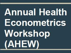 Annual Health Econometrics Workshop - Sept. 27-29