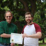 Andy Gray - Hamilton Award