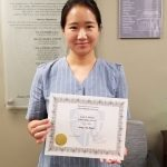 Sue Bahk - Christ Fellowship Award