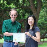 Xinyu Zhao - Castillo Award