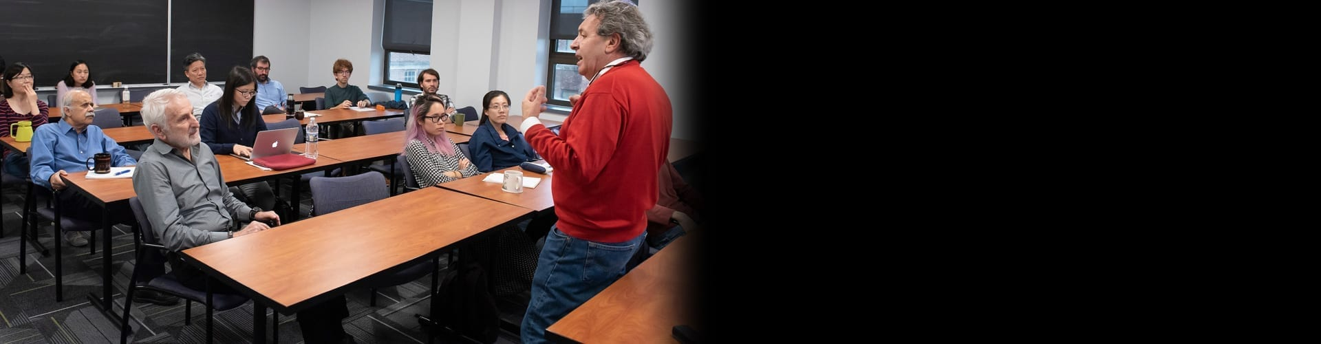 Department research covers applied microeconomics, econometrics, economic theory, finance, and macroeconomics. In addition to three weekly seminars, the department hosts conferences and special lectures within these five disciplines.