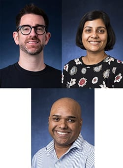 Professor Papageorge, Somasree Dasgupta and Muhammad Husain Promoted