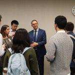 Coffee Break. JHU PhD Students Visit the IMF Headquarters in Washington DC