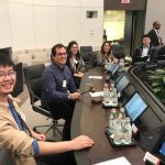 Executive Board Room. JHU PhD Students Visit the IMF Headquarters in Washington DC