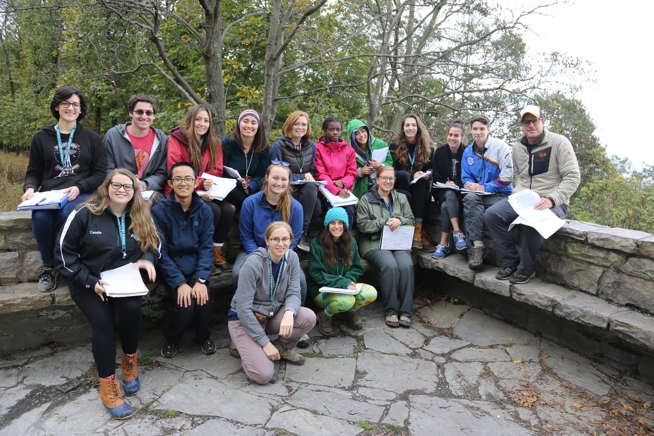 EPS students head to the field to study 'Dynamic Earth'
