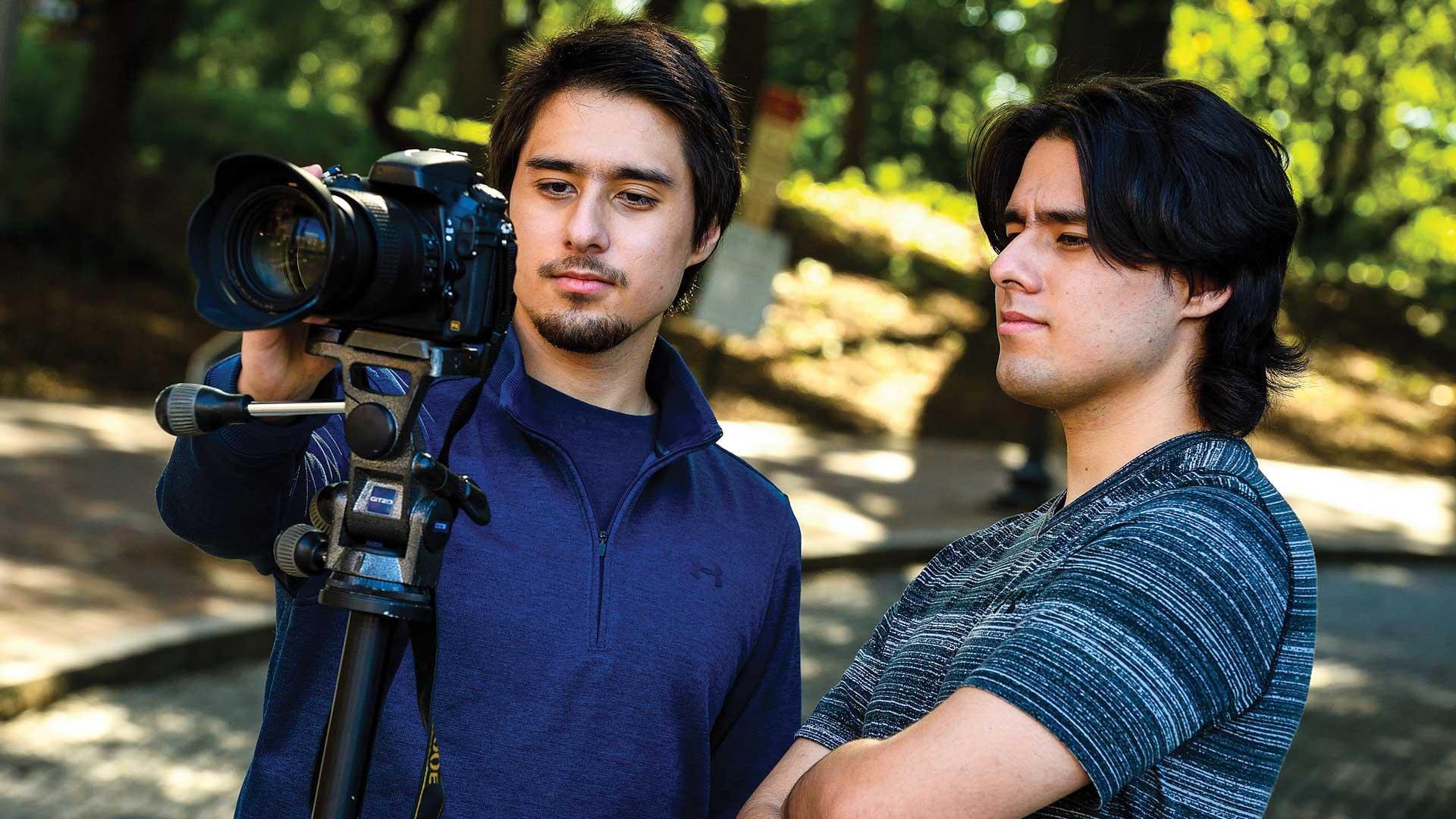 Film and Media Studies Siblings Work Together on Nurikabe