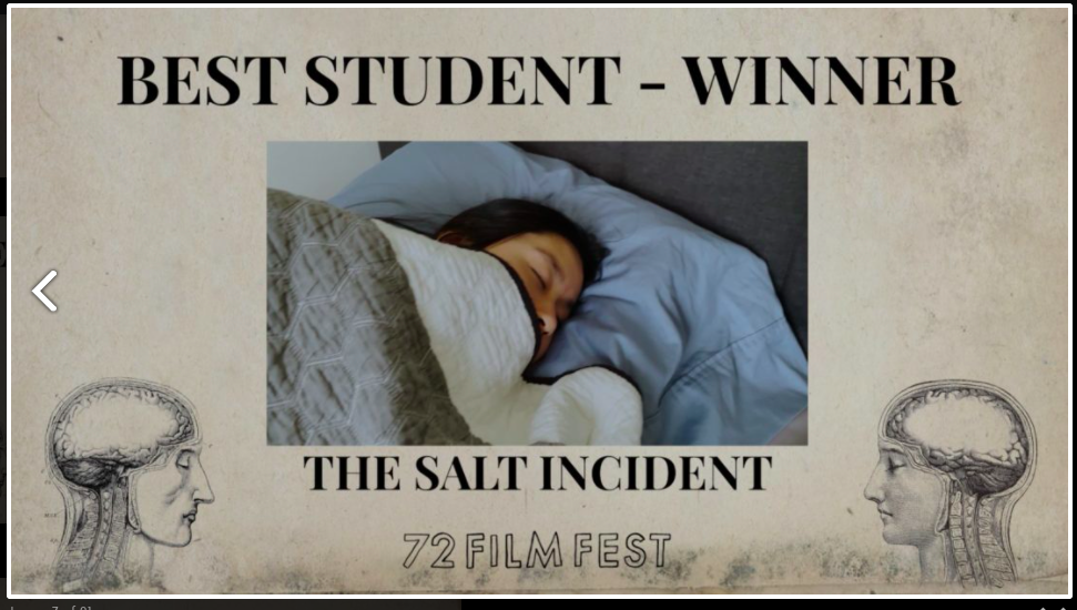 """Curtis and Thomas Nishimoto Win """"Best Student Film"""" in 72 Film Festival"""