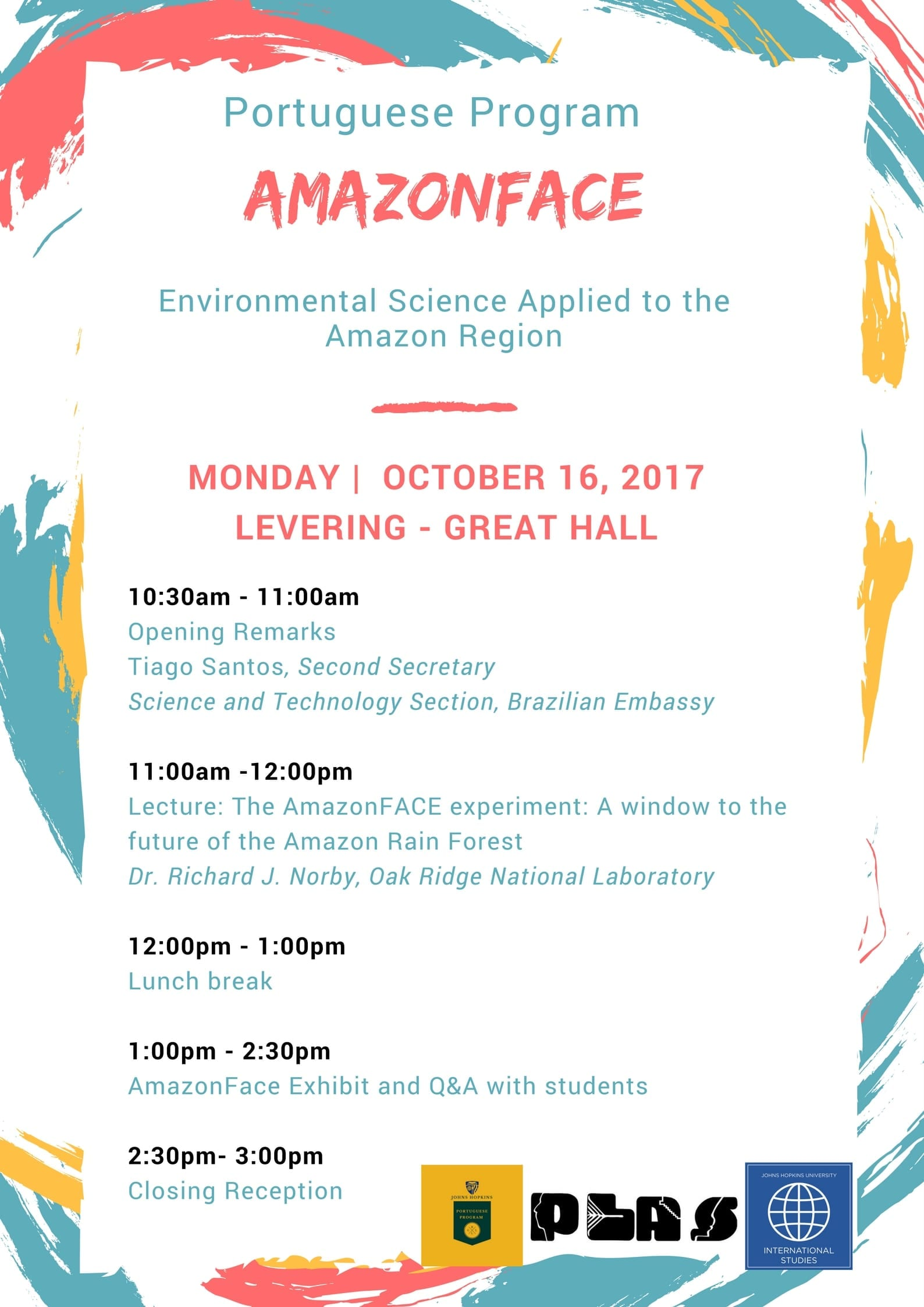 Upcoming Lecture, The AmazonFACE Experiment