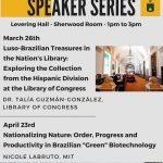 2018 speaker series poster
