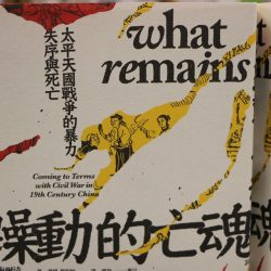 Chinese Language Edition of What Remains Published