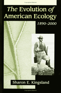 The Evolution of American Ecology, 1890–2000