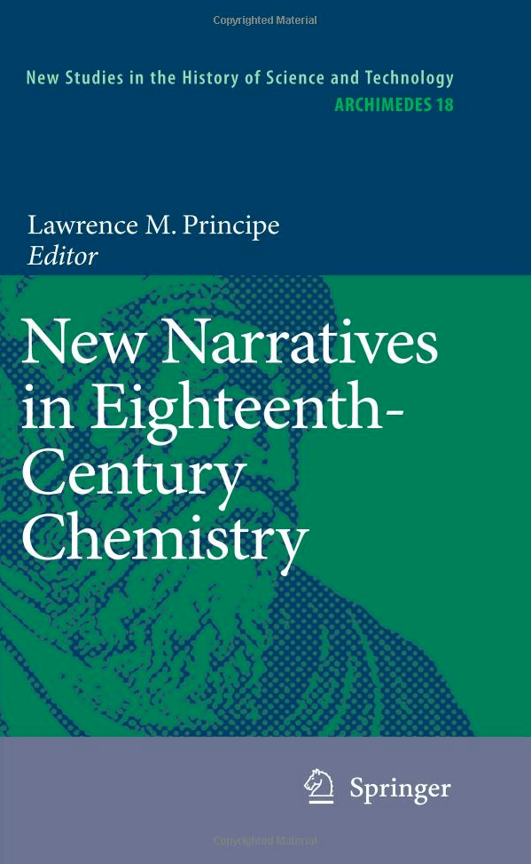 New Narratives in Eighteenth-Century Chemistry