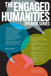 """Engaged Humanities"" Speaker Series: Dr. Brett Stoudt @ Malone Hall, 107 