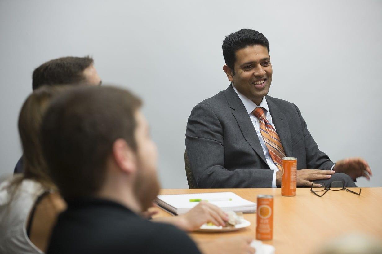 Breakfast with PBS NewsHour Anchor Hari Sreenivasan