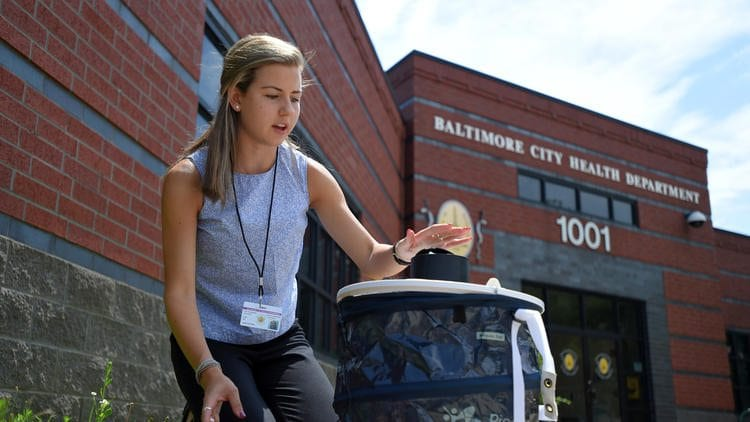 IS Senior's Efforts to Fight Zika Featured in Baltimore Sun