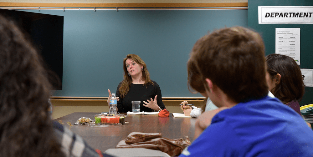 ISLC Hosts Discussion on International Law with Dr. Marieke de Hoon