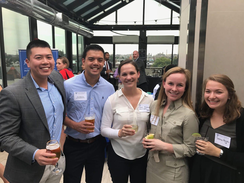 International Studies Alumni Gather in DC