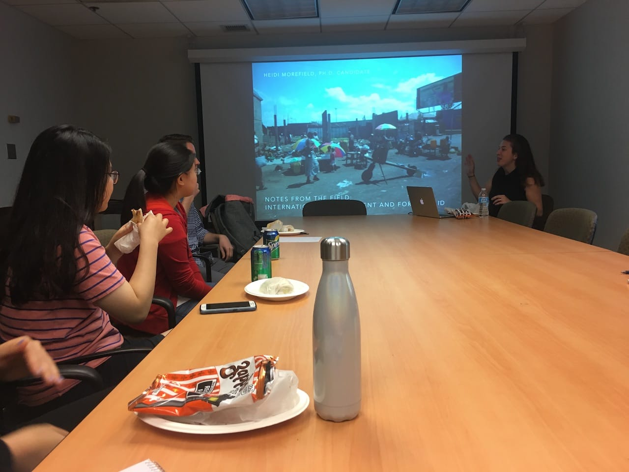 ISLC Hosts First Lunch and Learn