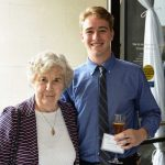 Patrick Thormann and Grandmother