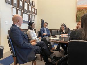 U.S. Senate site visit