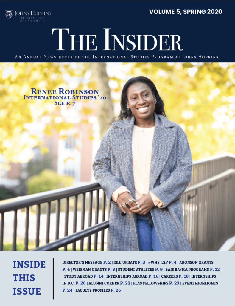 The Insider Spring 2020 Issue