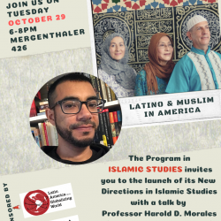 LATINO & MUSLIM IN AMERICA  OCT. 29