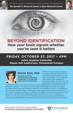 The 2017 Kenneth O. Johnson-Steven S. Hsiao Memorial Lecture @ JHU Homewood Campus