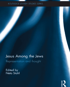 Jesus amont the Jews book cover